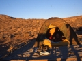 """Camping à """"Red Rock"""" non loin de Las Végas"""