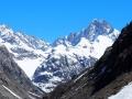 et la face nord-ouest du Dôme de Neige des Ecrins