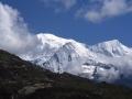 13892 - Chaine des Fiz - Bivouac face au Mont-Blanc - Juillet 2000