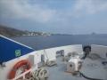 l'île Stromboli est en vue