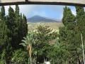 Le Stromboli depuis la terrasse de l'hotel le lendemain matin