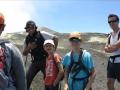 Notre guide Jean-Baptiste et ses jeunes stagiaires !