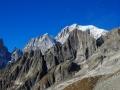 Le versant italien du Mont-Blanc
