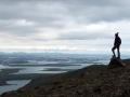 Du sommet du Mont Esja, la baie de Reykjavik