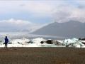 Pause au Jökullsarlon pour admirer les icebergs et les phoques