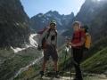 Le vallon du Glacier Noir