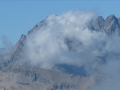 La Meije et son Glacier Carré au loin avec le Sirac tout proche