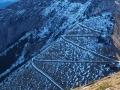 La piste abandonnée de l'Aiguille