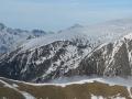 La large et longue croupe neigeuse, c'est la rando classique du lac de la Courbe
