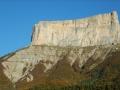 Face sud-est du Mont-Aiguille