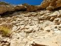 Début de la 6ème longueur, le rocher est plus solide qu'il n'y parait...