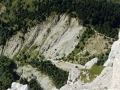 Le Col de l'Aupet et le sentier d'accès versant sud