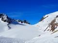 Le Grand Sauvage, le Glacier de Saint Sorlin et le Pic de l'Etendard à droite