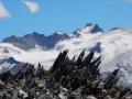 Pic de la Grave et glacier du Mont de Lans