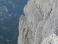 Le pilier depuis le sommet