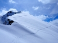 La crête du Mourre Froid et le sommet de la Gardiole de l'Alp