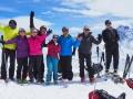Au sommet de la Pointe des Sagnes Longues (3032m)