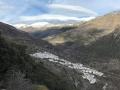 Le village de Trevelez (entre 1500m et 1700m)