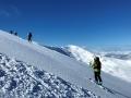 """Vendredi, montée au sommet de la Veleta (3396m) depuis la station de ski """"Sierra Nevada"""""""