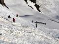 Dans les avalanches