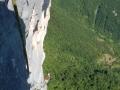 Une longue traversée ascendante sur la gauche avec sortie par Chrysanthème : pas beau et craignos !