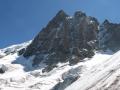Face nord de la Meije depuis le haut des Enfetchores