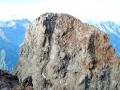 Le sommet central de l'Olan (3558m)