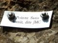 Un pilastre baptisé par JMC