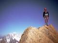 Le sommet est très exigu !!