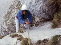 02354 - escalade à Chamechaude - avril 83
