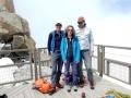 Les 2 alpinistes Norvégiens très sympathiques qui nous précédaient
