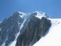 Le couloir Gervasutti en face est du Mont-Blanc du Tacul